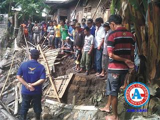 Dua Kali, Walikota Tinjau Lokasi Talud Jebol di Kelurahan Jatiwangi