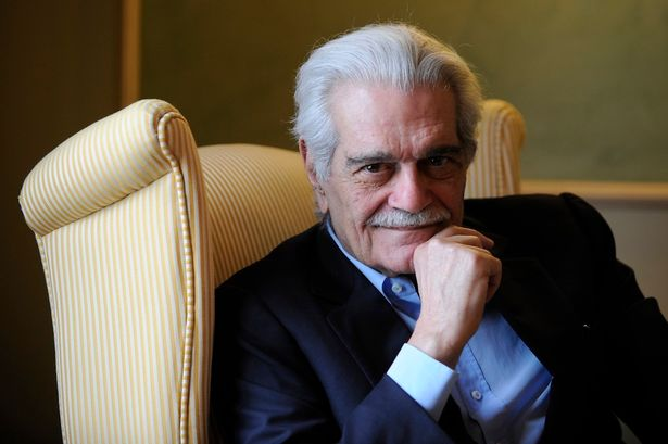 OMAR SHARIF, LAWRENECE OF ARABIA, DEAD AT 83.