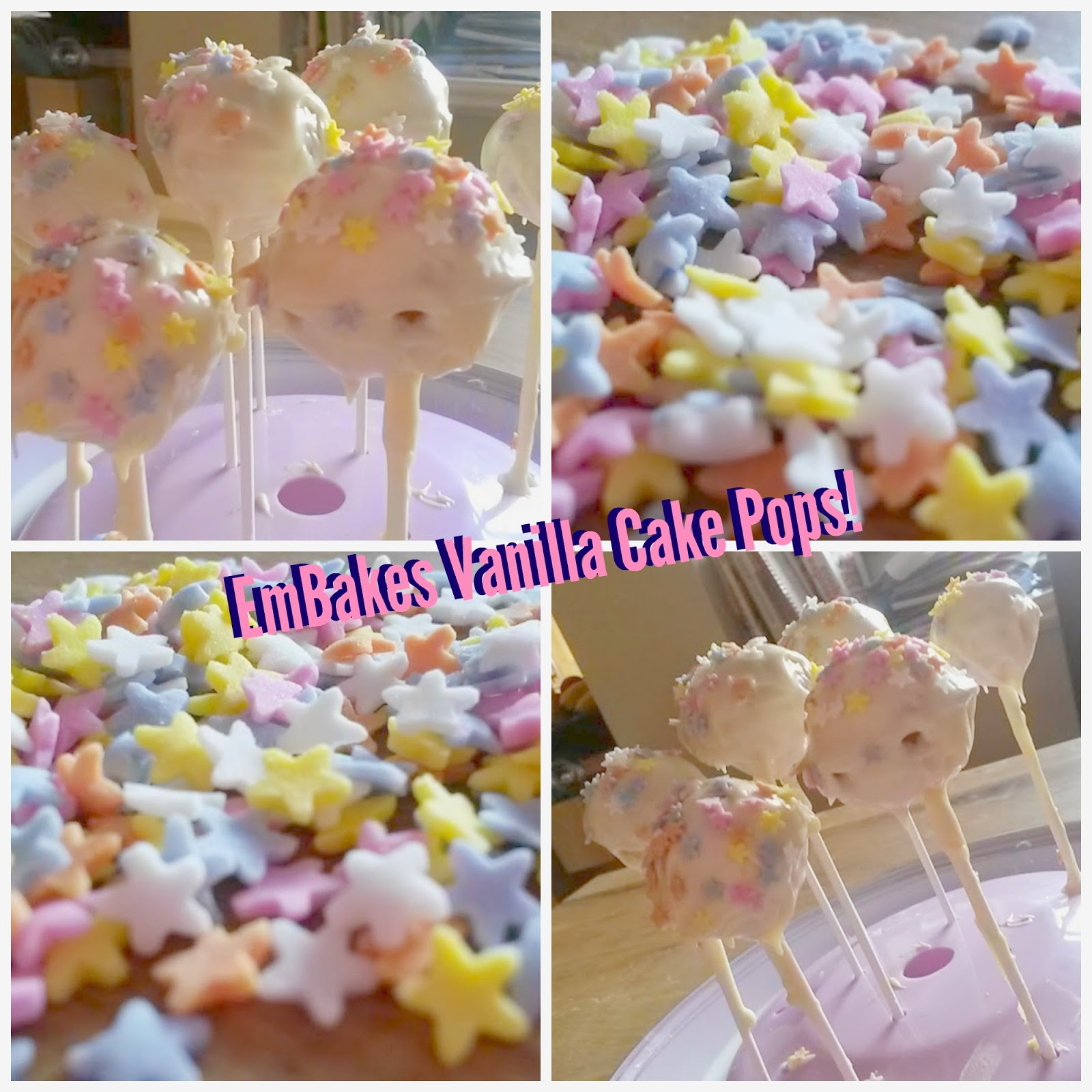 Vanilla Cake Pop Recipe With Mould