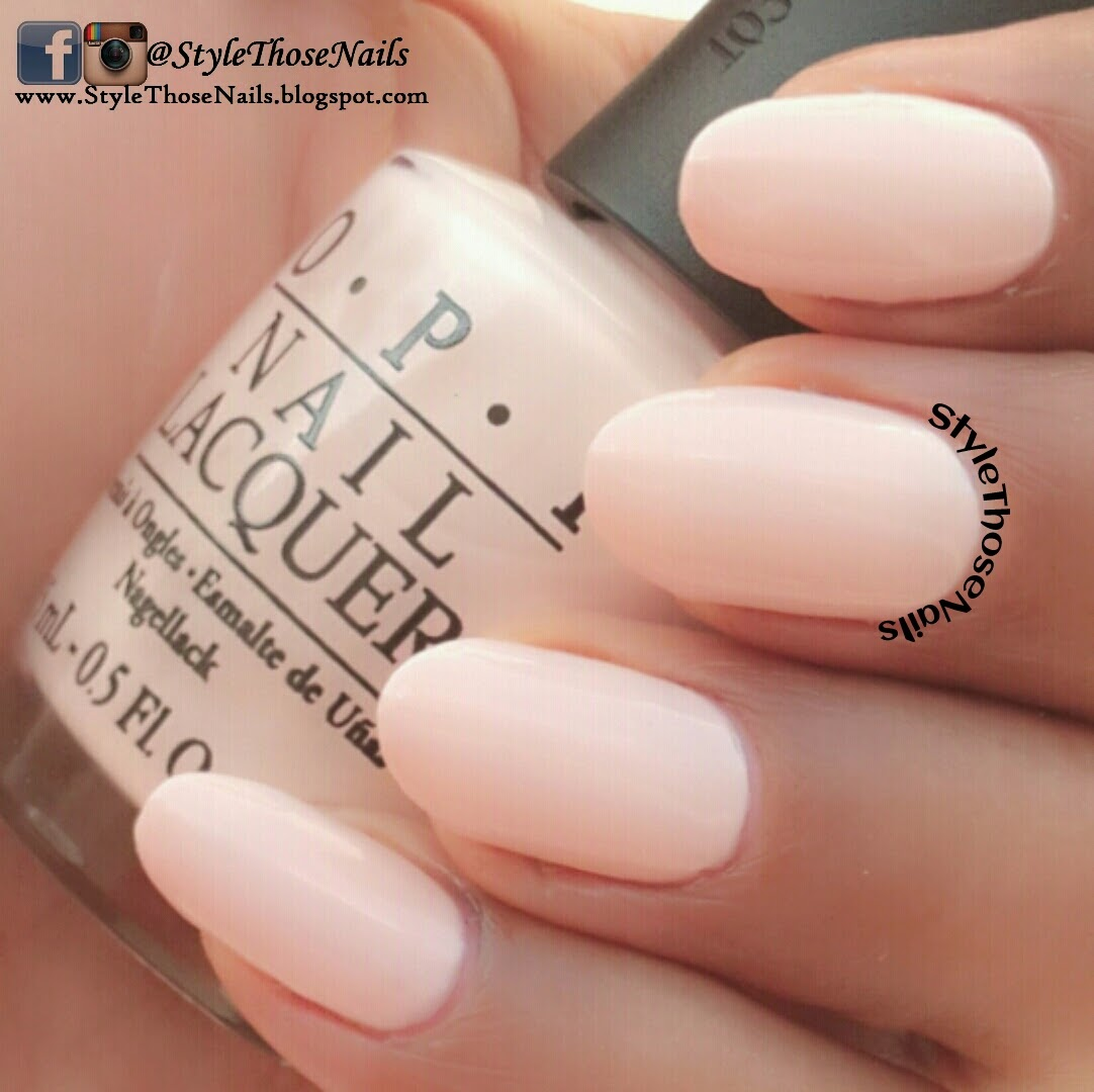 Top Style Those Nails: OPI-Sweet Heart and OPI-Elephantastic Pink  WW49