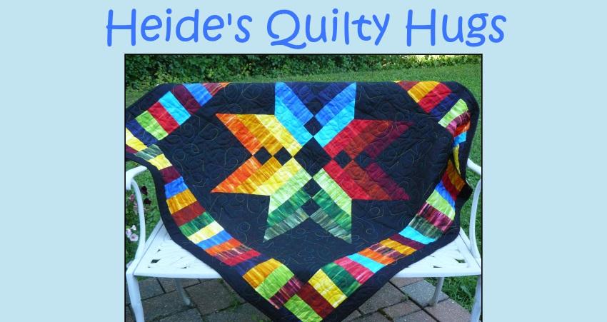 Heide's Quilty Hugs