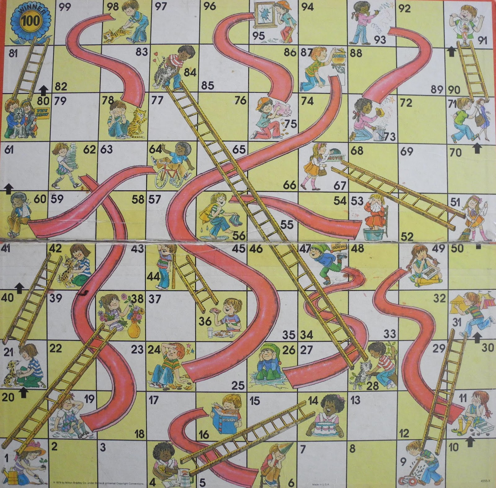 play shoots and ladders