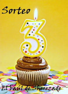 Sorteo Tercer aniversario