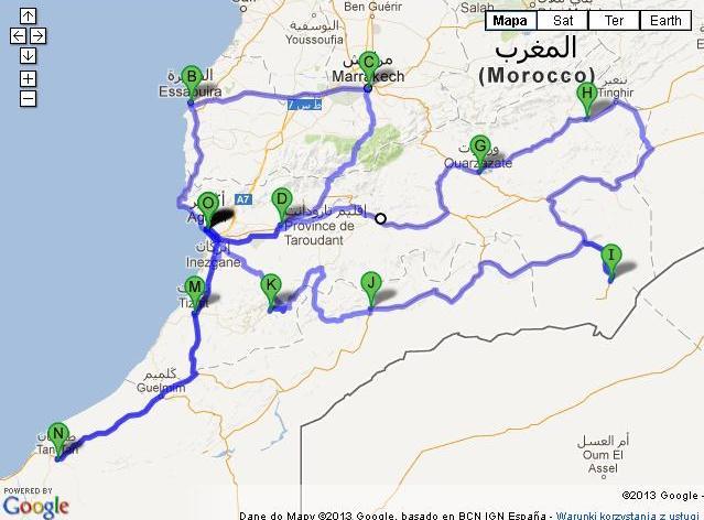 Maroko - temat zastępczy - część pierwsza