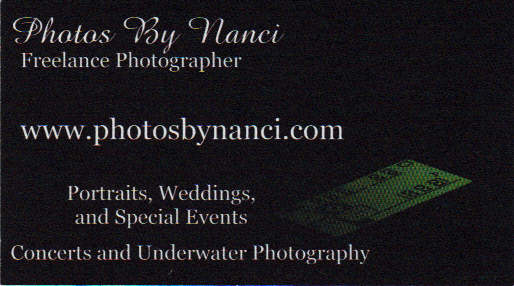 Weathersfield vermont directory of services sample of business card card listing photos by nanci photographer with over 30 years experience photographing weddings portraits special events and more visit her website reheart Choice Image