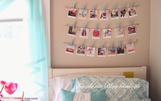 Duvarları Fotoğraf ve Anılarla Süsleme