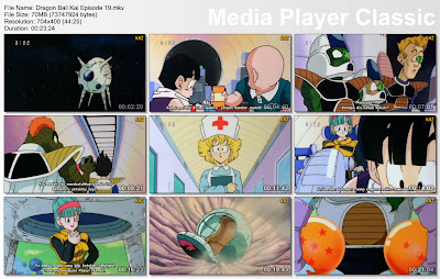 "Download Film / Anime Dragon Ball Kai Episode 19 ""Musuh Baru yang Kuat! Penguasa Alam Semesta, Freeza"" Bahasa Indonesia"