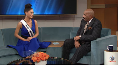 Pia Wurtzabach first sit-down interview at 'The Steve Harvey Show