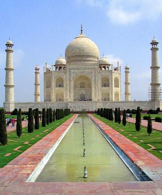 Taj Mahal. Siete nuevas maravillas del mundo