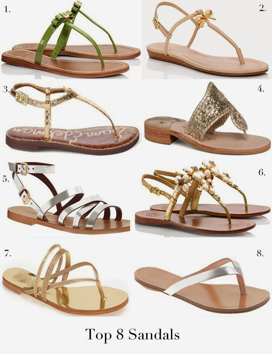 A Touch of Southern Grace : Spring & Summer Sandals