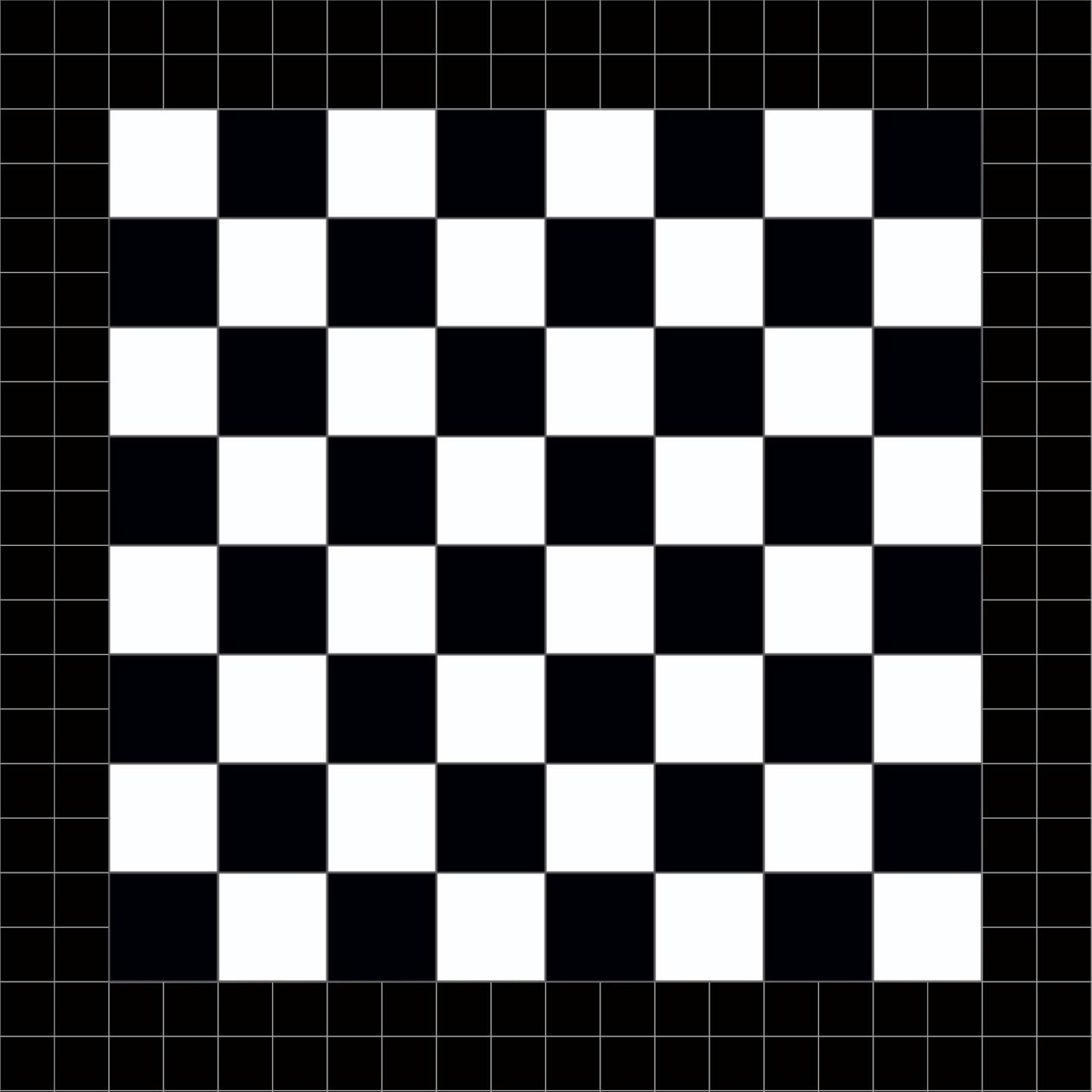 Tablero juego de mesa, ajedrez