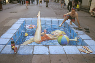 gambar gambar keren 2 Gambar Gambar Keren 3D Street Painting