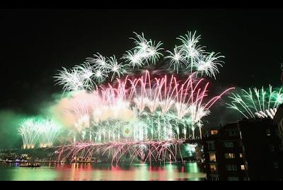 Perayaan Tahun Baru 2012 di Sydney Australia