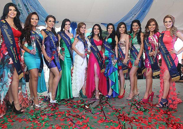 Fotos de candidatas a reina de guayaquil 2012