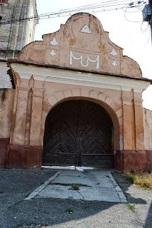 from Feldioara, Brasov the  Gate Fortified Evangelical Church