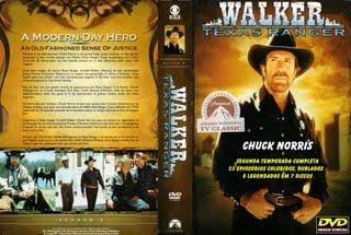 CHUCK NORRIS É A LEI ( WALKER TEXAS RANGER ) - SEGUNDA TEMPORADA COMPLETA