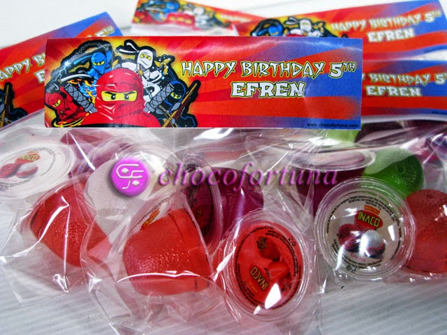 Souvenir jelly Ulang tahun birthday Goodie Bag Ninjago