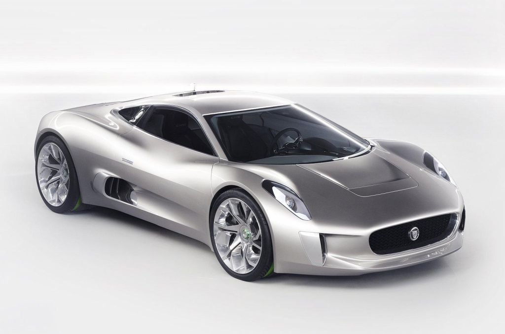 Jaguar C X75 Hybrid Supercar Production Cancelled