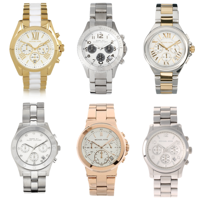 Michael Kors & Marc Jacobs horloges