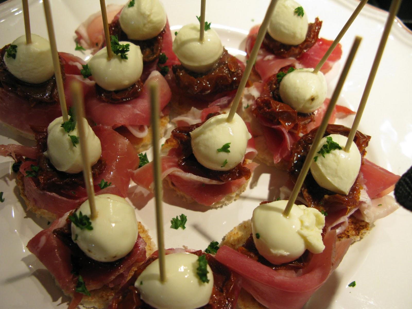 The Food Vine  bocconcini tapas