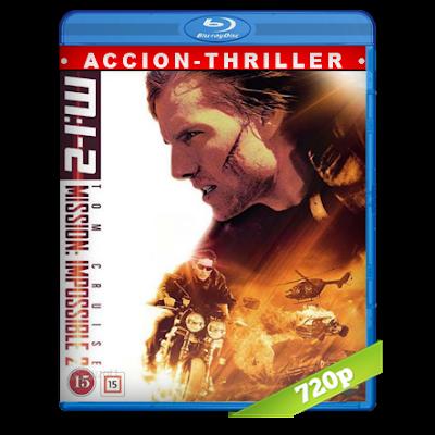 Mision Imposible 2 (2000) BRRip 720p Audio Trial Latino-Castellano-Ingles 5.1