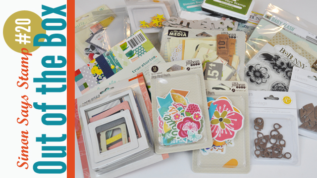 Scrapbooking Haul Video by Jen Gallacher for Simon Says Stamp