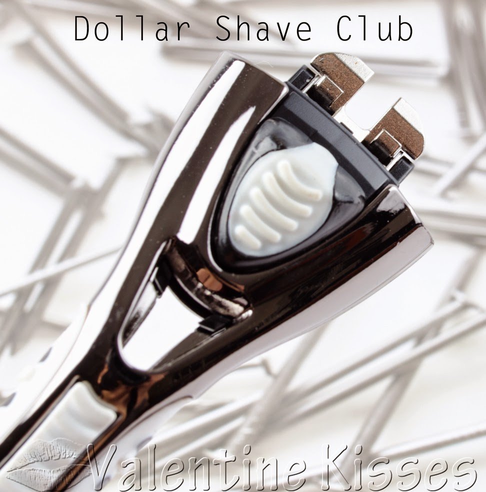 Valentine Kisses: Dollar Shave Club  pics, review!