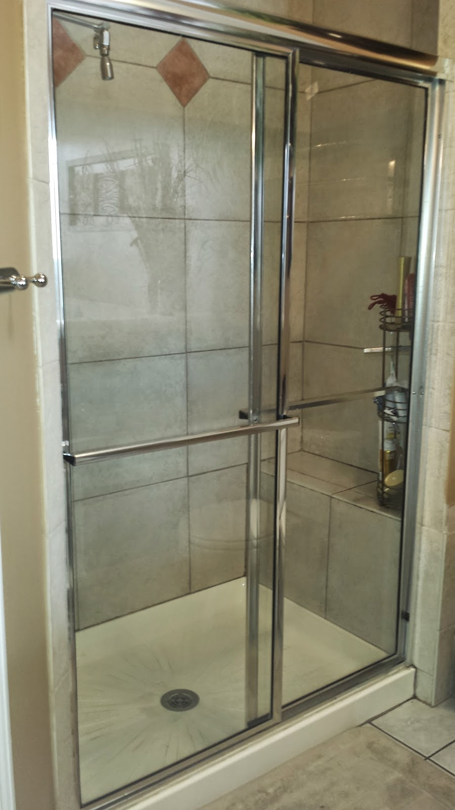 Flitz really does work on almost everything these shower doors are from my house the picture on the left is from 2001 the year we bought the house the doors were 10 years old in this photo vtopaller Images
