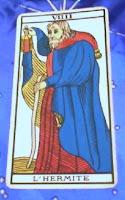 El Ermitaño- Tarot de Marsella