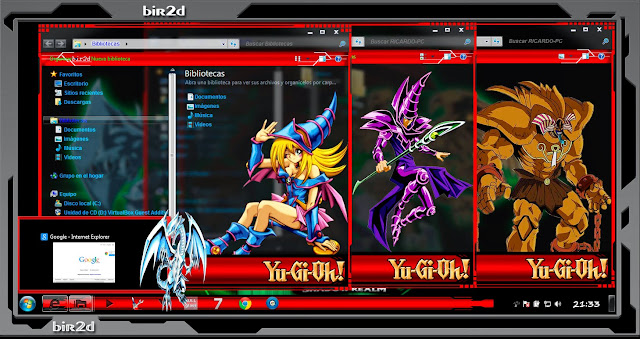 Yu-Gi-Oh! [ Theme Windows 7 ] 4