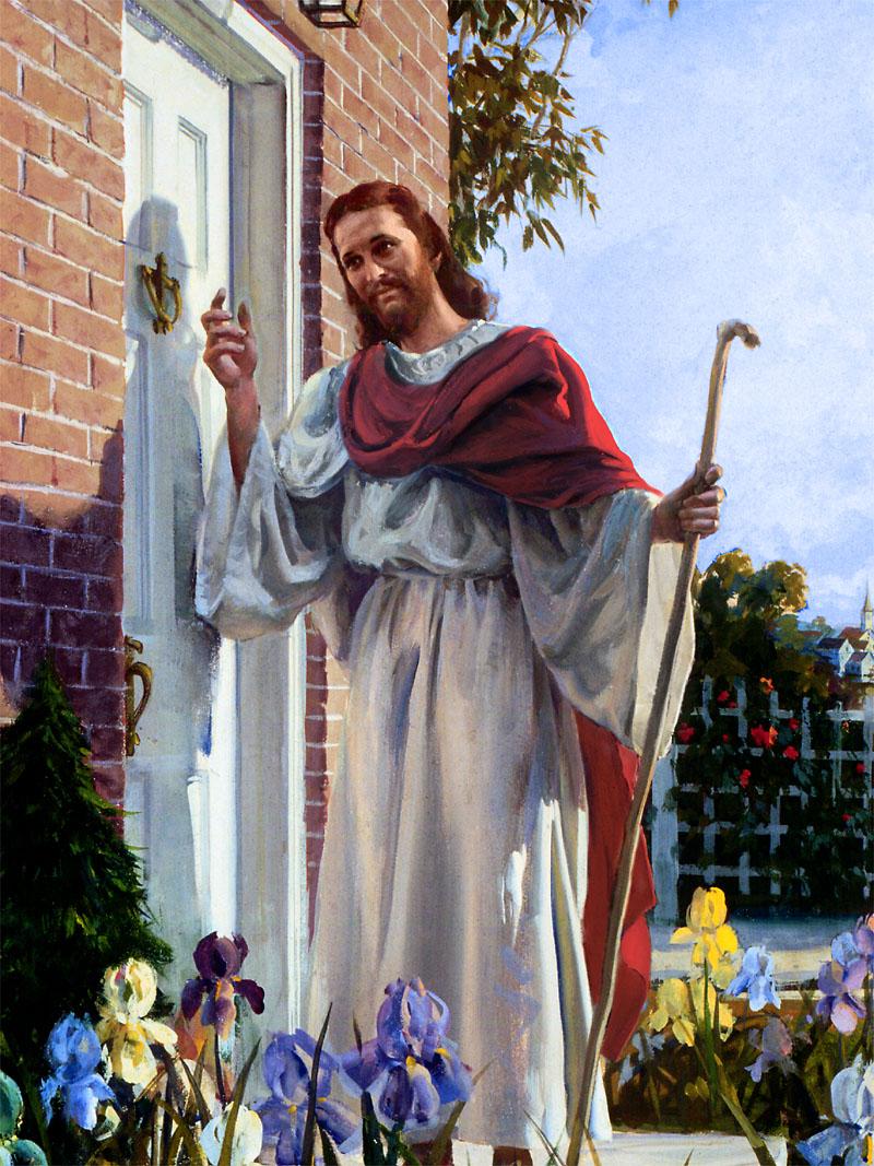 B blia mel dica batendo porta apocalipse 3 20 for Jesus a porta