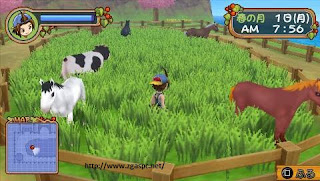 Free Download Harvest Moon Hero of Leaf Valley PSP ISO Full Version For PC ZGASPC