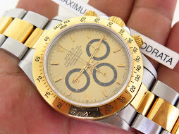 ROLEX DAYTONA TWO TONE YELLOW GOLD - ROLEX 16523 - SERIE W YEAR 1996-AUTOMATIC ZENITH 4030 MOVEMENT
