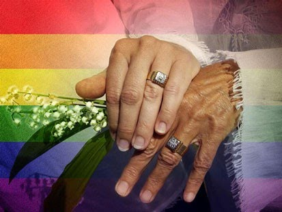 New York recently became the 6th state to allow gay couples to legally wed.