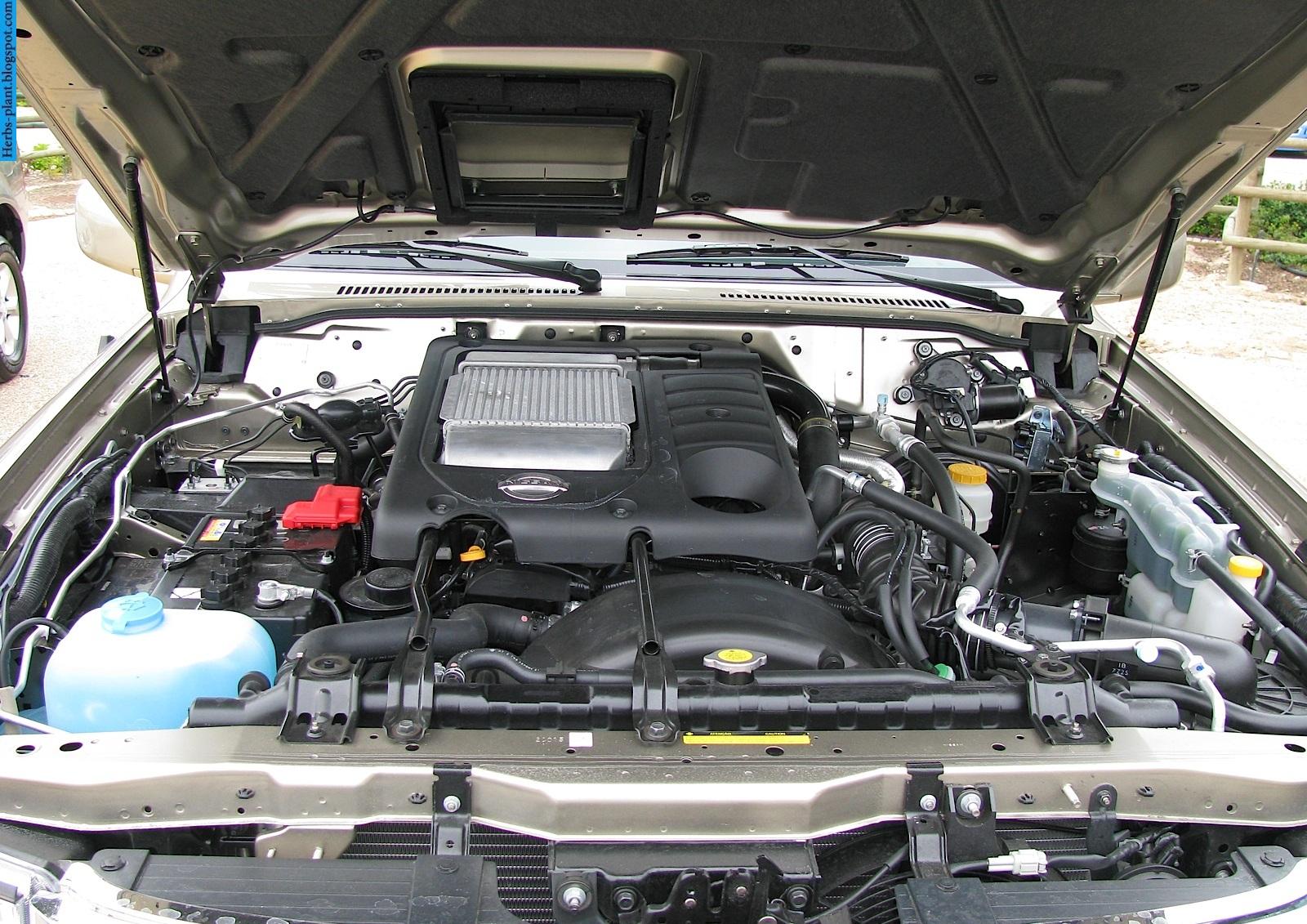 Nissan patrol car 2013 engine - صور محرك سيارة نيسان باترول 2013