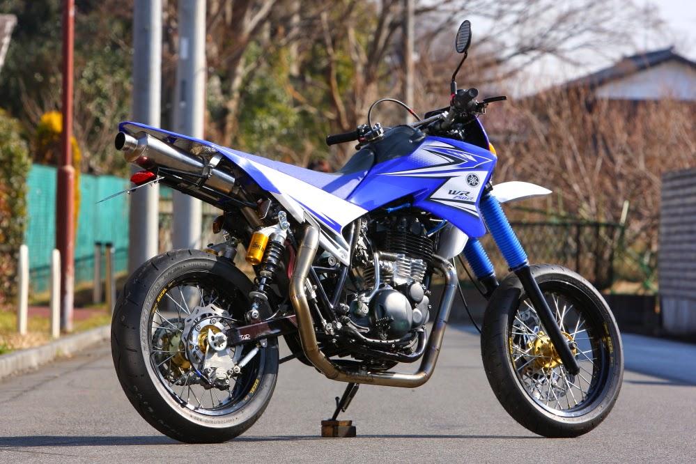 """Racing Caf�: Yamaha SR 400 """"Motard"""" by Bike Garage Thruxton"""