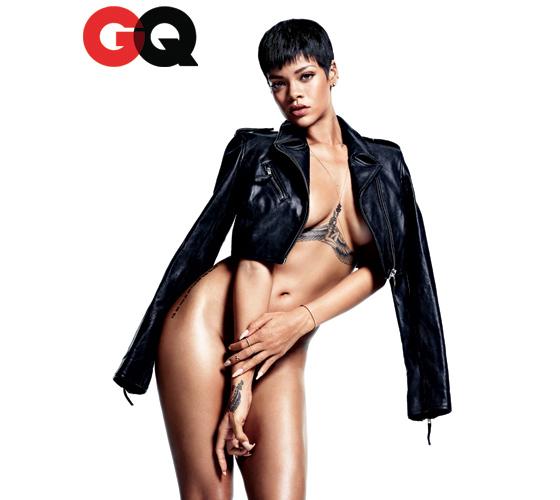Les photos ultra hot de Rihanna pour le magazine GQ