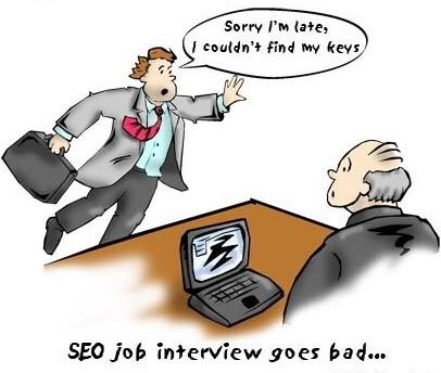 kartun Interview Kerja - tes wawancara kerja | munsypedia