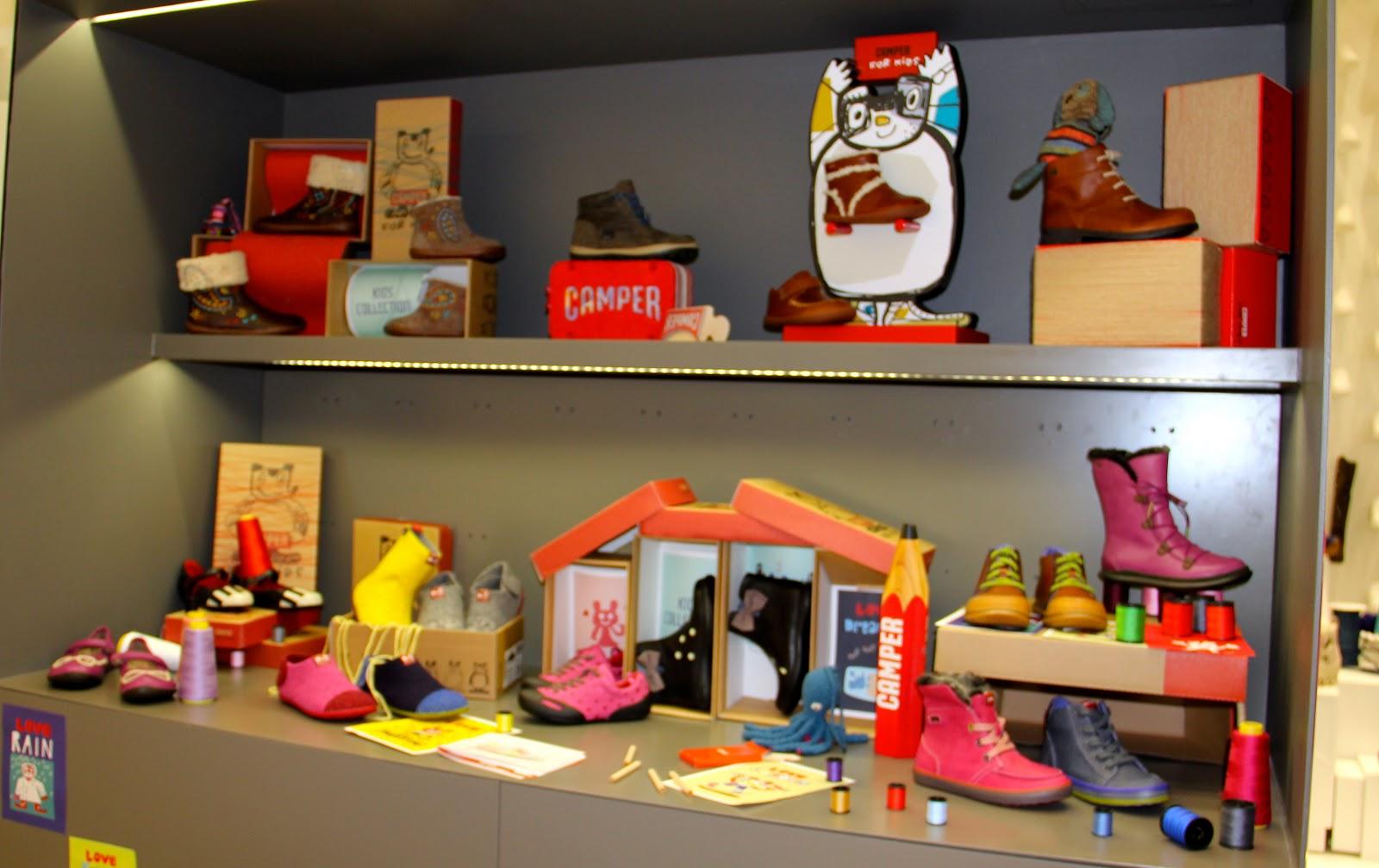 Camper Shoe Store San Francisco