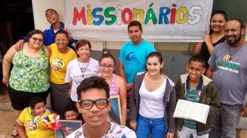 Implantação da Juventude Missionária em Hidrolândia (GO)