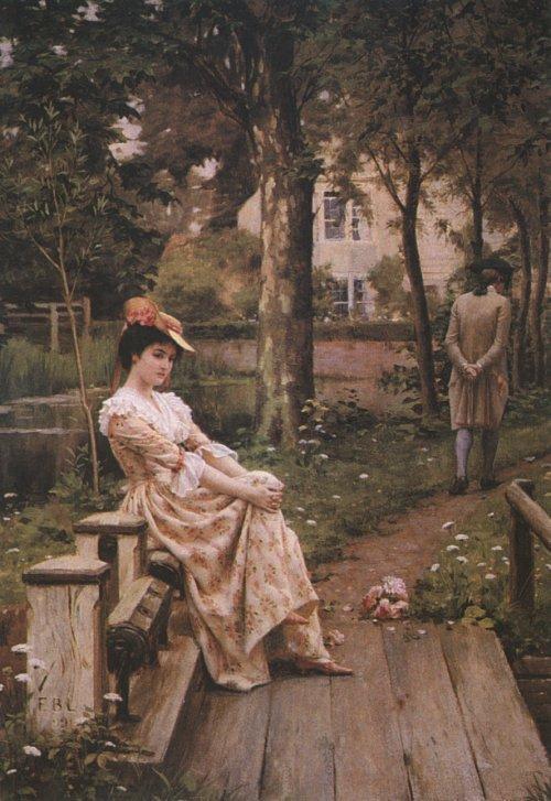 Paintings Edmund Blair Leighton Paintings