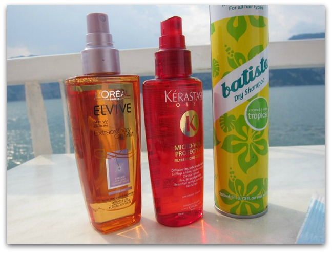 L'Oreal, Kerastase and Batiste hair products