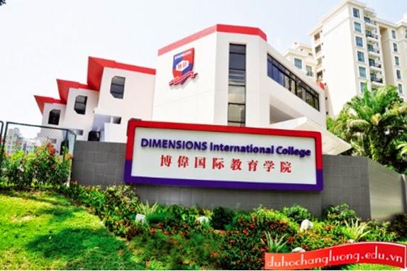 Du hoc thuc tap huong luong tai truong dimensions Singapore