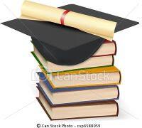 pilha de diplomas