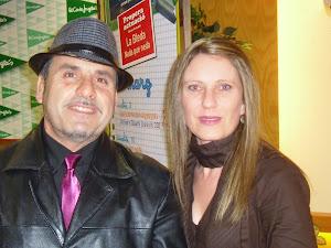 Con Aurora Tomás, escritora.