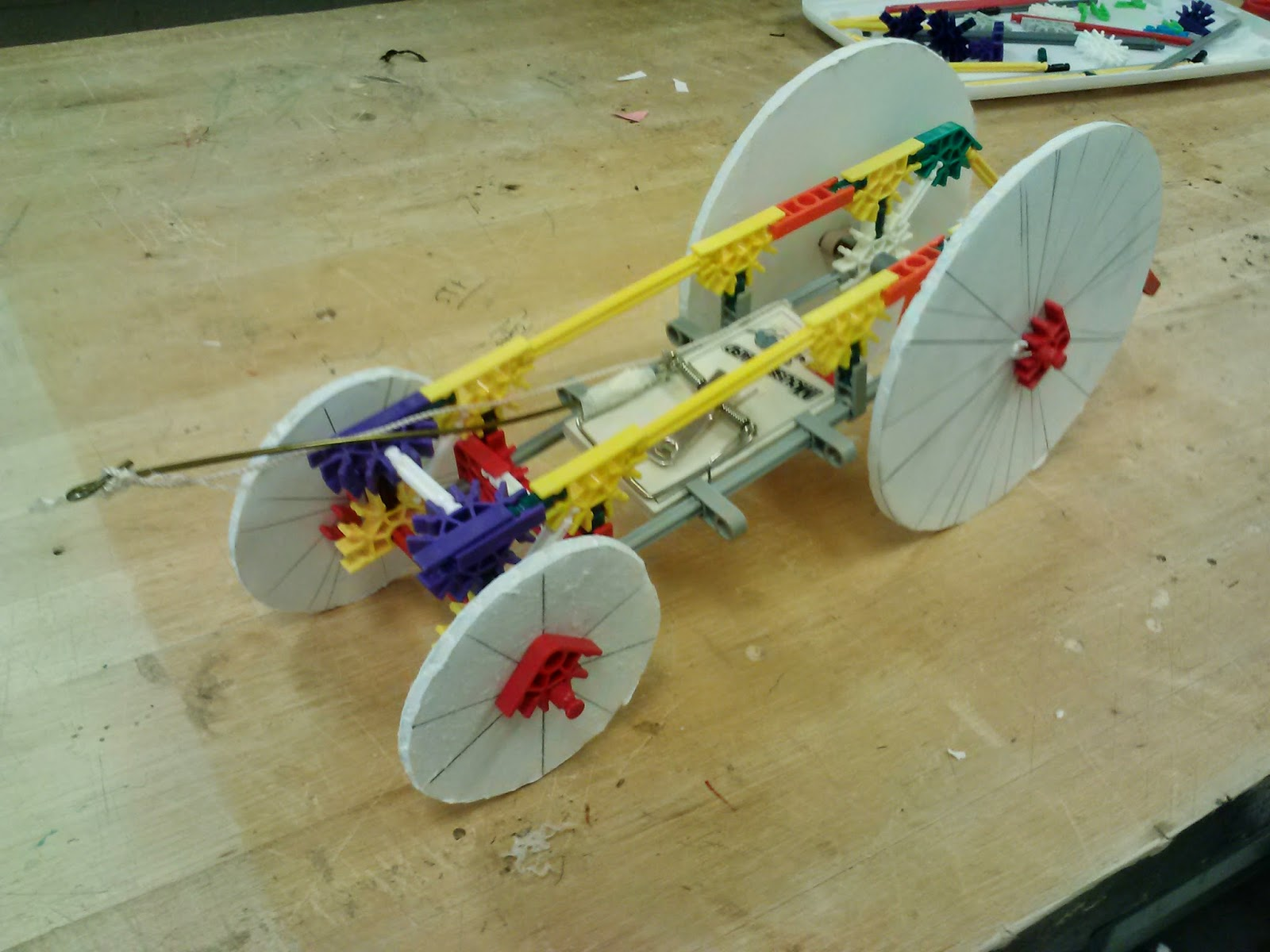 mousetrap car project Earth shattering secrets for building winning mousetrap powered cars, boats, racers, and other mouse trap mouse trap vehicle and project these mousetrap car.