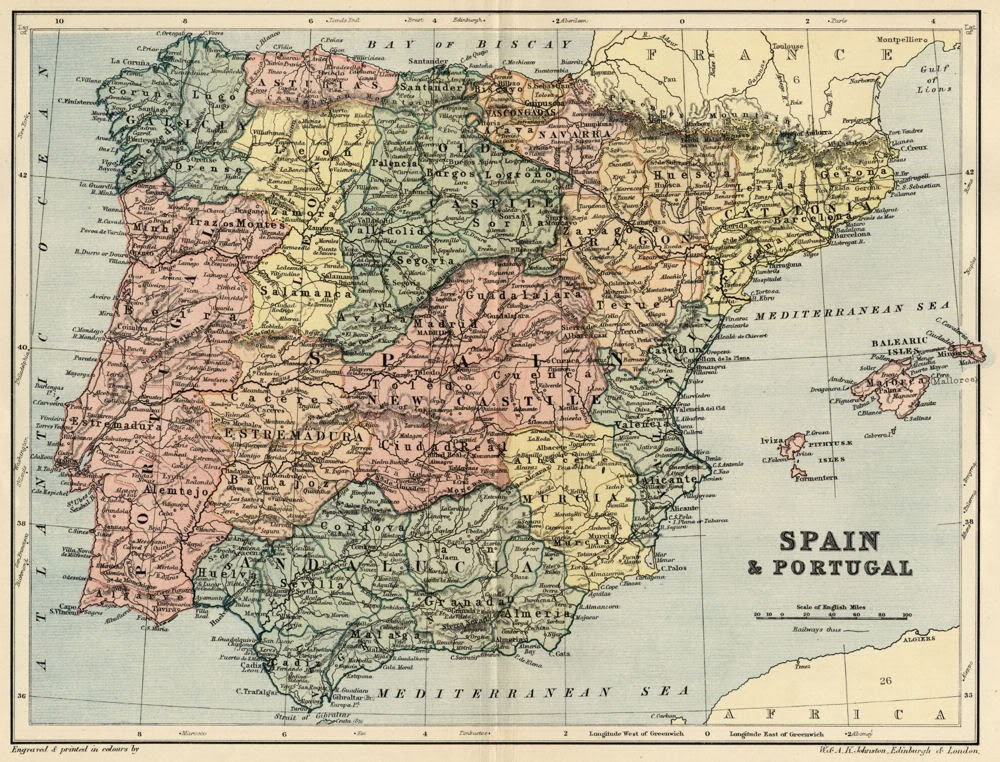 Castilla la Vieja y Castilla la Nueva 1895