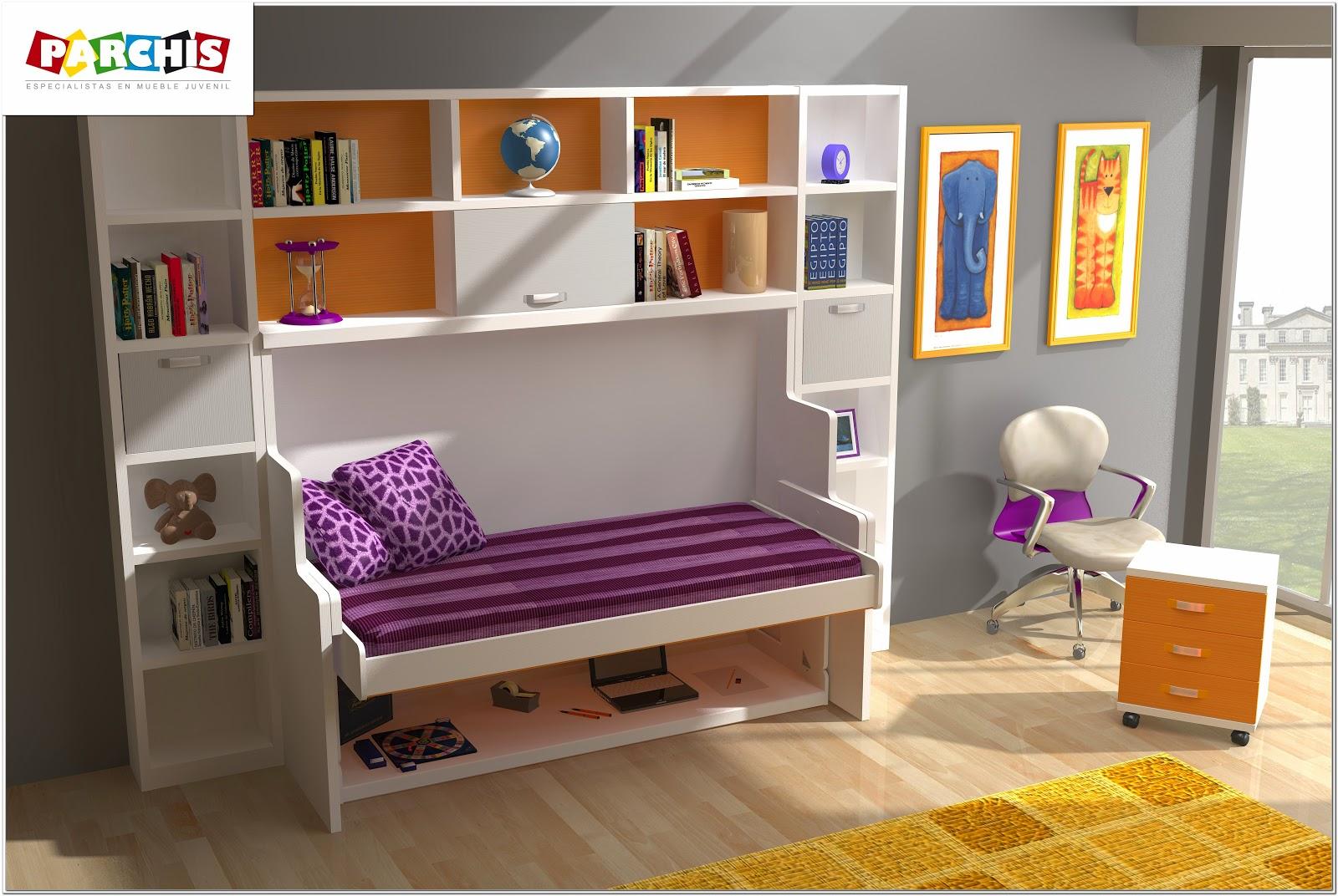 Muebles juveniles dormitorios infantiles y habitaciones juveniles en madrid son seguras las - Camas abatibles literas ...