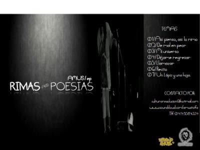 Amus - Rimas And poesias EP (2012) Venezuela