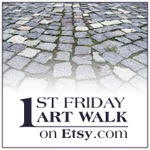 First Friday Art Walk Weekend On Etsy
